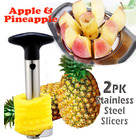 Stainless Steel Pineapple Cutter & Stainless Steel Apple Corer
