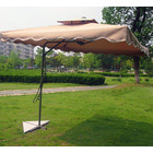 Varossa Large Square Cantilever Outdoor Umbrella  (Beige / Tan)