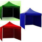 Varossa 3m x 3m Outdoor Pop Up Gazebo Marquee Tent with 3 Side Walls