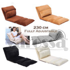 Varossa 230cm Multi-Recline Chaise Lounge Portable Sofa Bed Comfortable Recliner