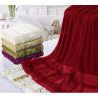 Large Bamboo Bath Towel (Red)