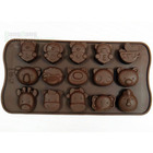 15 Cavities Animal Molds Cake Cookie Chocolate Candy Mould