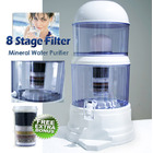 7 Stage Natural Mineral Water Dispenser & Bonus Extra Filter A