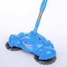 Manual Push Sweeper Floor Cleaner