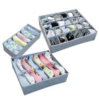 Bamboo Charcoal 3 Set Storage Cases (1 Package)