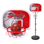 Portable Adjustable Junior Basketball Hoop Set 1.6m