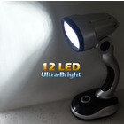 2 x Ultra Bright 12LED Light Desk Lamp