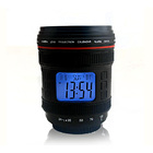 Camera Lens Music Multifunction Projector Digital Alarm Clock