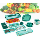 Vegetable Fruit Dicer Slicer Food Processor Cutter Fusion Set