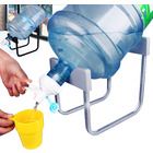Water Bottle Dispenser Stand Set
