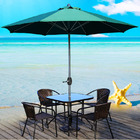 Alfresco 3m Steel Outdoor Umbrella (Green)