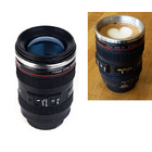 Camera Lens Stainless Steel Cup Mug