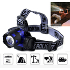 3W LED High Power Mini Head Lamp Blue Headlight