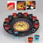 Spin and Shot Drinking Roulette Game Set