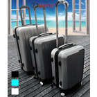 "3 Piece Deluxe Ultra Light Tough Luggage Suitcase Set (28"", 24"", 20"")"