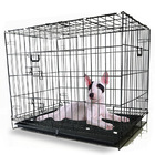 Large Foldable Metal Wire Pet Dog Cage