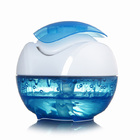 Waterfall Portable USB Air Humidifier Purifier with Night Light
