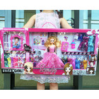 Deluxe Large Dolls & Clothes Play Set