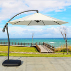 3m Heavy Duty Round Cantilever Outdoor Umbrella (White)
