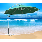 3m Aluminium Cantilever Outdoor Umbrella (Green)