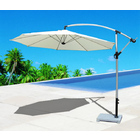 3m Aluminium Cantilever Outdoor Umbrella (White)