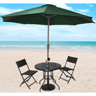 Alfresco 2.7m Steel Outdoor Umbrella (Green)