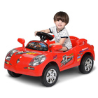 Kids Electric Ride On Sports Car with Remote Red