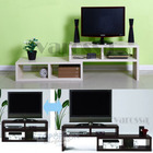 Varossa 2 In 1 Multifunctional Adjustable TV Cabinet /Coffee Table /Display Shelf