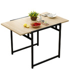 Divine Folding Dining Utility Table (Oak)