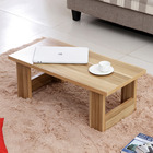 Varossa's Simplicity Wooden Coffee Table Desk (Natural Oak)