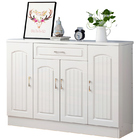 Royal 4-Door Double Buffet Shoe Storage Cabinet