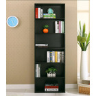 Aurora 1800mm Streamline Tall Wooden Display Shelf Bookshelf Organizer (Black Walnut)
