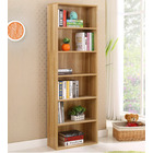 Aurora 1800mm Streamline Tall Wooden Display Shelf Bookshelf Organizer (Oak)
