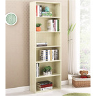 Aurora 1800mm Streamline Tall Wooden Display Shelf Bookshelf Organizer (White Oak)