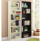 Aurora 1800mm Streamline Tall Wooden Display Shelf Bookshelf Organizer