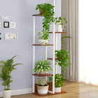 Wonderland 6-Tier Garden Plants Stand Planter Shelf (Walnut)