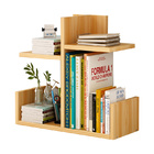 Sublime Desk Hutch Storage Shelf Unit Organizer (Walnut)