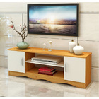 Atlantic TV Cabinet Entertainment Unit (Oak & White)