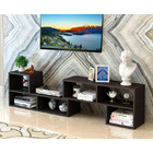 5 in 1 Combination Multi-way Adjustable TV Cabinet /Coffee Table /Display Shelf  (Black Walnut)