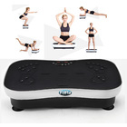 Ultra Slim Vibration Machine Whole Body Shaper Plate (White)