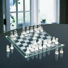 Deluxe Glass Chess Game Set