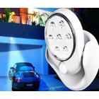 2 x Motion Activated 360 Rotating LED Wireless Motion Sensor Cordless Light