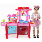 Deluxe Multifunction Kitchen Kids Pretend Play Toy Set