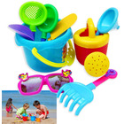 9PCS Sand Toy Set with Bucket