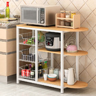 Optimal Organizer Kitchen Workbench Storage Shelf (Oak)