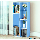 Organizer Storage Display Shelf Cabinet Closet (Blue)