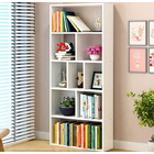 Arcadia 1.8m Tall Display Shelf Bookshelf Organizer (White)