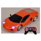 RC Remote Control Car with Lights Lamborghini 1:24 (Orange)