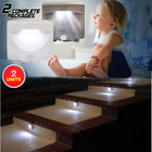 2 X Mighty Motion Activated Sensor Lights