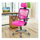 Advanced High Back Deluxe Ergonomic Office Chair (Pink)